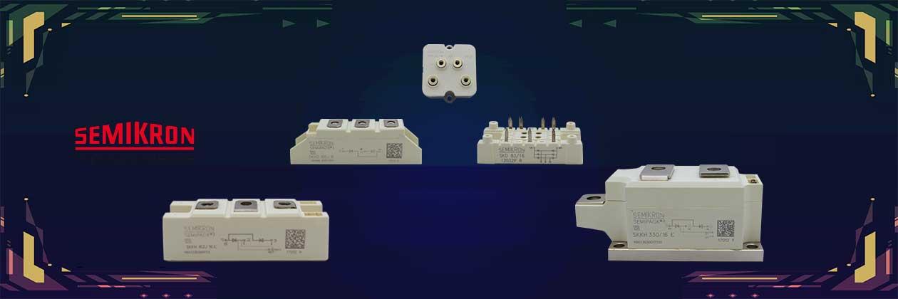 قطعات صنعتی سمیکرون semikron - فروشگاه اینترنتی مدیالایت