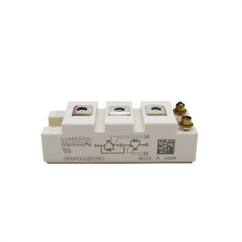 SKM100GB128D SEMIKRON IGBT DUAL PACK MODULES